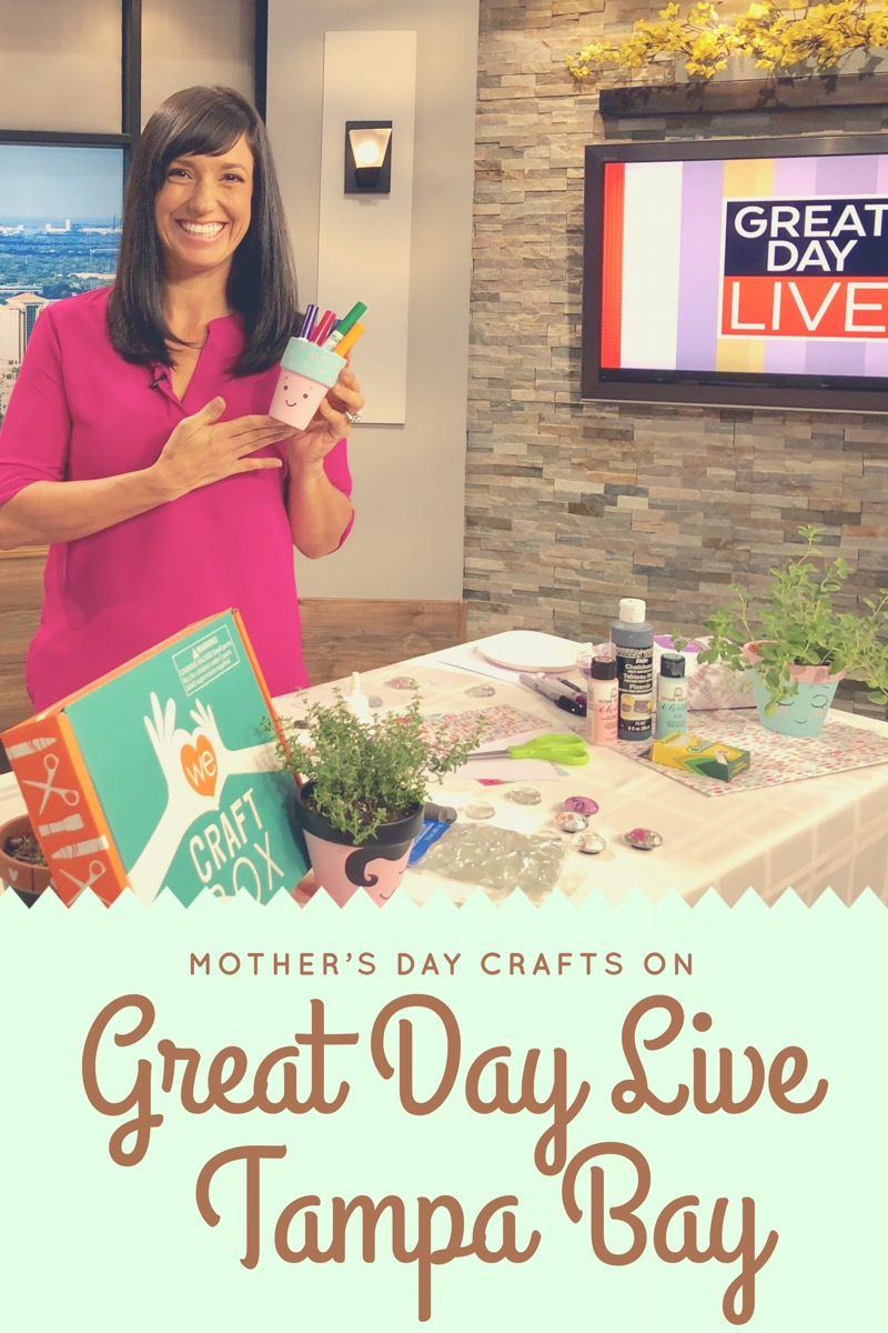 Mother's Day Crafting Segment on Great Day LIVE Tampa Bay